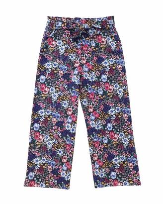 Name It Girl's Nkfdinay 7/8 Wide Pant Trouser