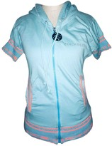Just Cavalli Blue Cotton Top for Women