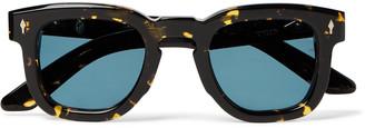 Jacques Marie Mage Hickok Round-Frame Tortoiseshell Acetate Sunglasses