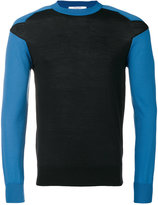 Givenchy seam detail knitted jumper - men - Polyester/Wool - M