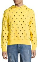 Wesc Mike All Over Palm Tree Hooded French Terry Sweatshirt