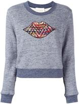 See by Chloe bisous applique sweatshirt - women - Cotton - M