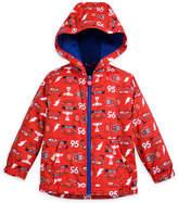 Disney Lightning McQueen Color Changing Rain Jacket for Kids