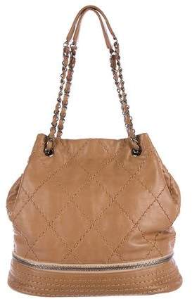Chanel Expandable Drawstring Bag
