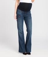 Lilac Dark Flare Jeans