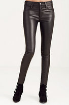 True Religion Leather Halle Super Skinny Womens Pant