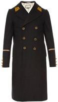 Gucci Double-breasted wool and cashmere-blend overcoat