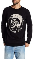 Diesel S-Orestes Mohican Head Sweater
