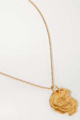 Alighieri Year Of The Rat Gold-plated Necklace