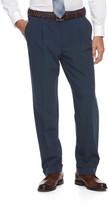 Croft & Barrow Big & Tall True Comfort 4-Way Stretch Classic-Fit Pleated Dress Pants