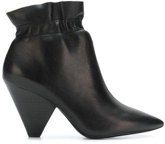Ash Elasticated Ankle Boots