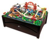 Kid Kraft Metropolis Train Table and Set