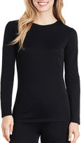 Cuddl Duds Softwear Long-Sleeve Crewneck T-Shirt - Plus