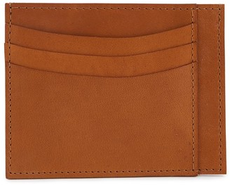 Le Feuillet Leather card holder