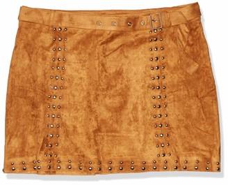 Forever 21 Women's Plus Size Studded Mini Skirt