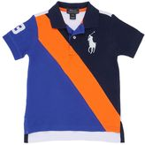 Ralph Lauren Color Block Cotton Piqué Polo Shirt