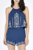 Parker Blanche Embroidered Romper