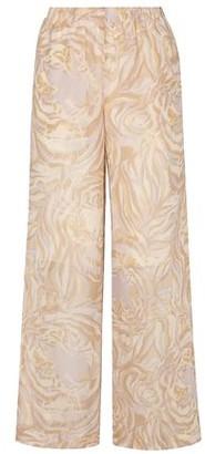 See by Chloe Printed Silk-chiffon Wide-leg Pants