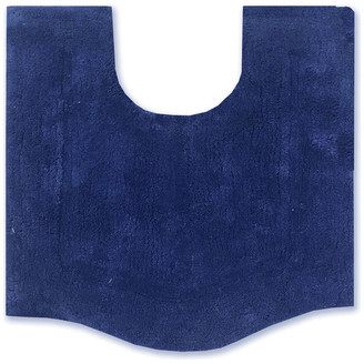"""Home Weavers Inc. Waterford 20""""x20"""" Contour Navy Blue"""