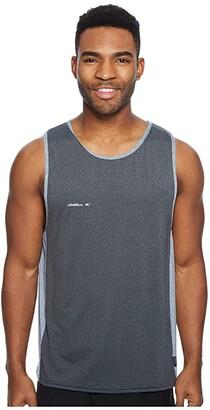 O'Neill Hybrid Tank Top (Black/Cool Grey) Men's Swimwear