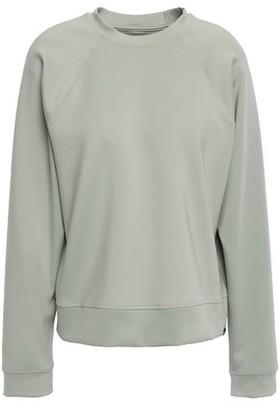 Koral Velvet-trimmed Scuba Sweatshirt