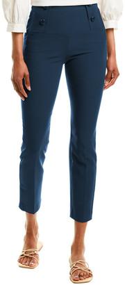 Tibi Anson Stretch Tailored Pant