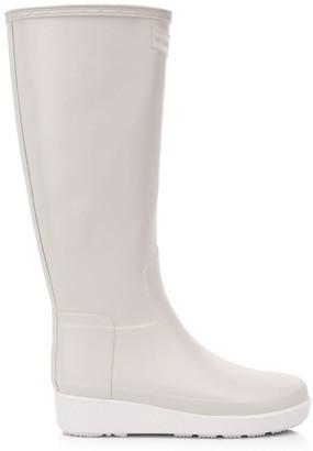 Hunter Knee-High Creeper Rain Boots