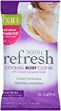 Ban Total Refresh Cooling Body Cloths, Restore, 10 Count