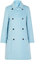 Paul & Joe Efarniente Wool-blend Felt Coat - Sky blue