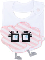 Fendi cartoon cloud embroidered bib