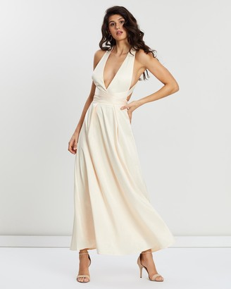 Loreta - Women's Nude Maxi dresses - Day Dream Dress - Size One Size, XS at The Iconic