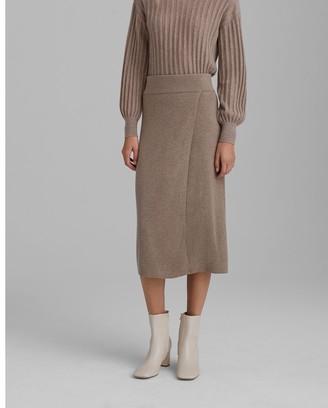 Club Monaco Knit Midi Skirt