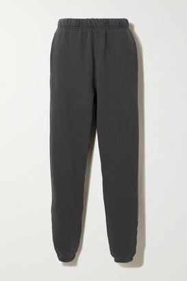 Les Tien - Cotton-jersey Track Pants - Black