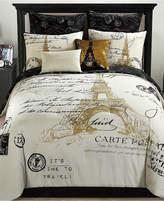 Idea Nuova Paris Reversible 8-Pc. Gold Queen Comforter Set Bedding