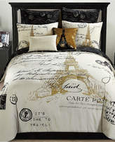 Idea Nuova Paris Reversible 8-Pc. Gold Queen Comforter Set