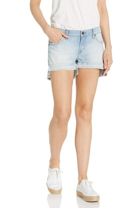 James Jeans Women's Shorty Slouchy Fit Boy Shorts in Subculture 26