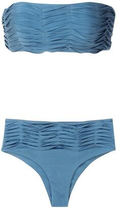 ESC Lumi draped bikini set