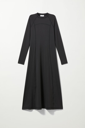 Weekday Amida Dress - Black