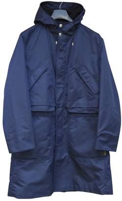Versace Navy Polyester Coats