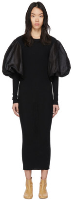 Totême Black Vignola Dress