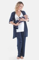 Everly Grey Women's Roxanne - During & After 5-Piece Maternity Sleepwear Set