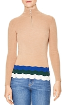 Sandro Stephy Stripe-Detail Sweater