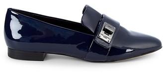 Karl Lagerfeld Paris Nelia Patent Leather Loafers
