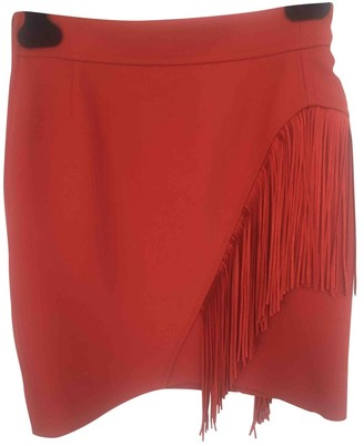 Maje Spring Summer 2019 Orange Skirt for Women