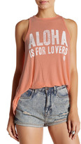Rip Curl Aloha is for Lovers Front Graphic Tank