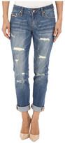 Jag Jeans Alex Boyfriend Capital Denim in Blue Carbon