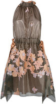 Fendi floral print dress