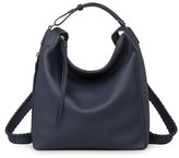 AllSaints Small Kita Convertible Leather Backpack - Blue