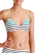 J.Crew Women's Ombre Stripe Bikini Top