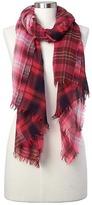 Gap Wool plaid scarf